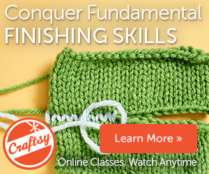 Craftsy Finishing Class